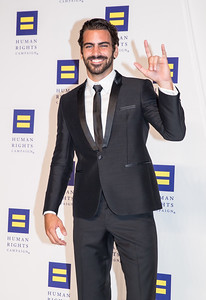 ANTM Winner Nyle DiMarco. Photo by Erin Schaff. HRC National Dinner 2016. Convention Center. September 10, 2016.
