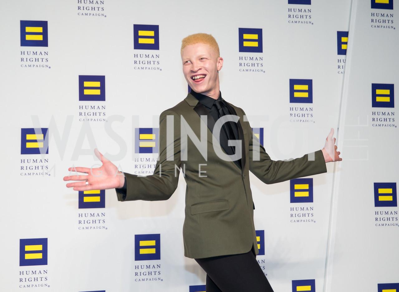 Shaun Ross. Photo by Erin Schaff. HRC National Dinner 2016. Convention Center. September 10, 2016.