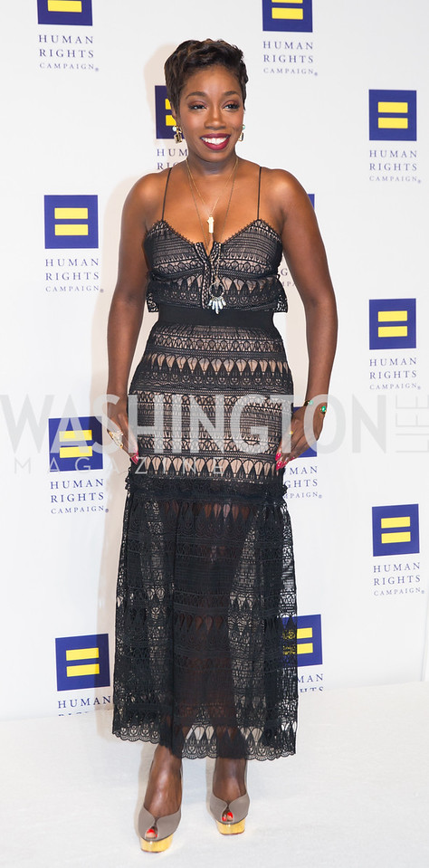 Estelle. Photo by Erin Schaff. HRC National Dinner 2016. Convention Center. September 10, 2016.