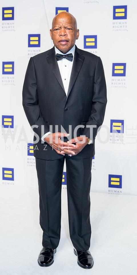 Congressman John Lewis. Photo by Erin Schaff. HRC National Dinner 2016. Convention Center. September 10, 2016.