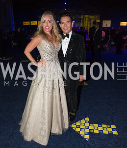 Jenny Block, Luis Morales Lopez. Photo by Erin Schaff. HRC National Dinner 2016. Convention Center. September 10, 2016.