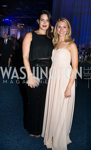 Rachel Kaplan, Megan Skibiel. Photo by Erin Schaff. HRC National Dinner 2016. Convention Center. September 10, 2016.