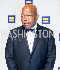Congressman John Lewis. Photo by Erin Schaff. HRC National Dinner 2016. Convention Center. September 10, 2016.