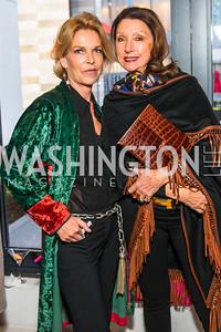 Princess Sophie Habsburg, Aniko Achott. Photo by Alfredo Flores. Handbag event with Sophie Habsburg. Fig & Olive
