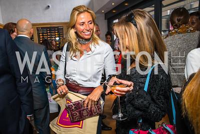 Maria Trabocchi, Michelle Kosinski. Photo by Alfredo Flores. Handbag event with Sophie Habsburg. Fig & Olive. April 6, 2016