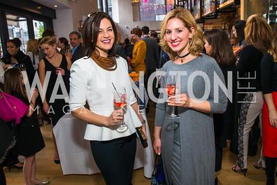 Elizabeth Burks, Marissa Mitrovich. Photo by Alfredo Flores. Handbag event with Sophie Habsburg. Fig & Olive. April 6, 2016
