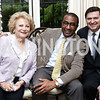 Mary Mochary, Eric Motley, Stewart McLaurin. Photo by Tony Powell. Hillie Mahoney Book Party. April 22, 2016