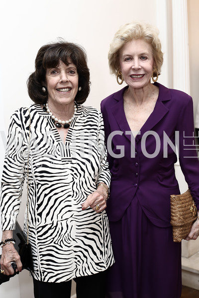 DeDe Cutler, Ann Nitze. Photo by Tony Powell. Hillie Mahoney Book Party. April 22, 2016