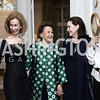Bonnie McElveen-Hunter, Hillie Mahoney, Alexandra de Borchgrave, Aniko Gaal Schott. Photo by Tony Powell. Hillie Mahoney Book Party. April 22, 2016