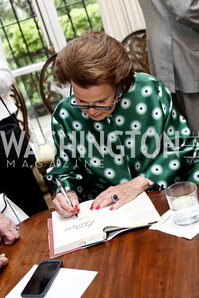 Hillie Mahoney. Photo by Tony Powell. Hillie Mahoney Book Party. April 22, 2016