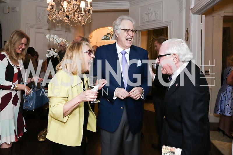 Gilan Tocco Corn, Nash Schott, Milton Corn. Photo by Tony Powell. Hillie Mahoney Book Party. April 22, 2016