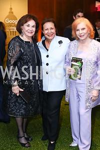 Alma Gildenhorn, Alma Powell, Buffy Cafritz. Photo by Tony Powell. IRELAND 100 Opening Performance & Dinner. Kennedy Center. May 17, 2016