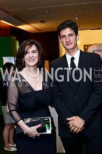 Victoria Reggie Kennedy, Jack Kennedy Schlossberg. Photo by Tony Powell. IRELAND 100 Opening Performance & Dinner. Kennedy Center. May 17, 2016