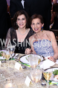 Victoria Reggie Kennedy, Adrienne Arsht. Photo by Tony Powell. IRELAND 100 Opening Performance & Dinner. Kennedy Center. May 17, 2016
