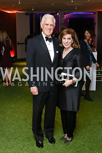 Charles Miller and Patricia Sagon. Photo by Tony Powell. IRELAND 100 Opening Performance & Dinner. Kennedy Center. May 17, 2016