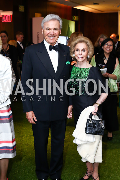 Stuart and Wilma Bernstein. Photo by Tony Powell. IRELAND 100 Opening Performance & Dinner. Kennedy Center. May 17, 2016