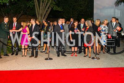 Photo by Alfredo Flores. Innovating Through Business Partnerships 2016 reception. Embassy of Denmark. September 27, 2016