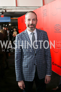 "Screenwriter Noah Oppenheim. Photo by Tony Powell. ""Jackie"" DC Premiere Screening. Newseum. December 1, 2016"