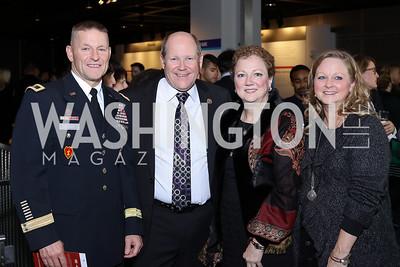 "Brad Becker, Rep. Reid Ribble and Deana Ribble, Sherri Becker. Photo by Tony Powell. ""Jackie"" DC Premiere Screening. Newseum. December 1, 2016"