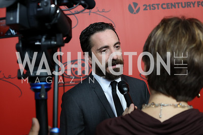"Director Pablo Larrain. Photo by Tony Powell. ""Jackie"" DC Premiere Screening. Newseum. December 1, 2016"