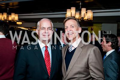 Cushman & Wakefield's Richard Tonner, Mark Strandquist. Photo by Tony Powell. February 16, 2016