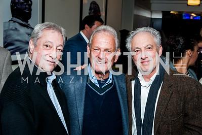 Boss Shepherd's owner Paul Cohn, Bob Pincus, Harry Jaffe. Photo by Tony Powell. February 16, 2016