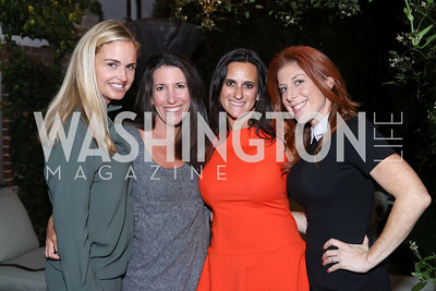 Sharon Bradley, Barbara Martin, Rebecca Fishman, Jayne Sandman. Photo by Tony Powell. Jill Kargman Book Party. Haft Residence. September 15, 2016