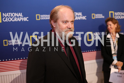 "Actor Michael H. Cole. Photo by Tony Powell. ""Killing Reagan"" Premiere Screening. Newseum. October 6, 2016"