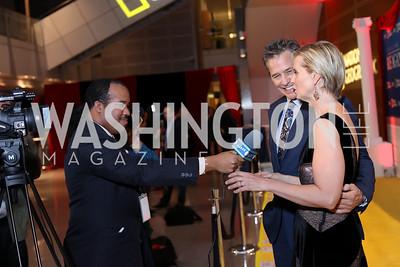 """Photo by Tony Powell. """"Killing Reagan"""" Premiere Screening. Newseum. October 6, 2016"""