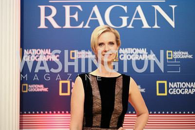 "Actress Cynthia Nixon. Photo by Tony Powell. ""Killing Reagan"" Premiere Screening. Newseum. October 6, 2016"