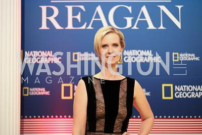 "Actress Cynthia Nixon. Photo by Tony Powell. ""Killing Reagan"" Premiere Screening. Newseum. October 6, 2016"