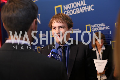 "Actor Kyle S. More. Photo by Tony Powell. ""Killing Reagan"" Premiere Screening. Newseum. October 6, 2016"
