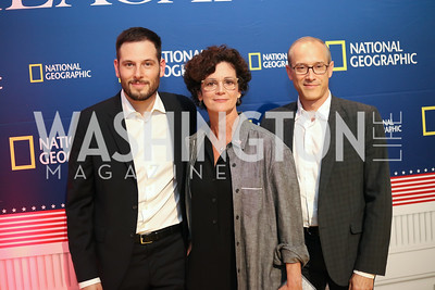 """Killing Reagan"" Exec. Prod. Clayton Krueger, Prod. Diane Sabatini, and Exec. Prod. David Zucker. Photo by Tony Powell. ""Killing Reagan"" Premiere Screening. Newseum. October 6, 2016"