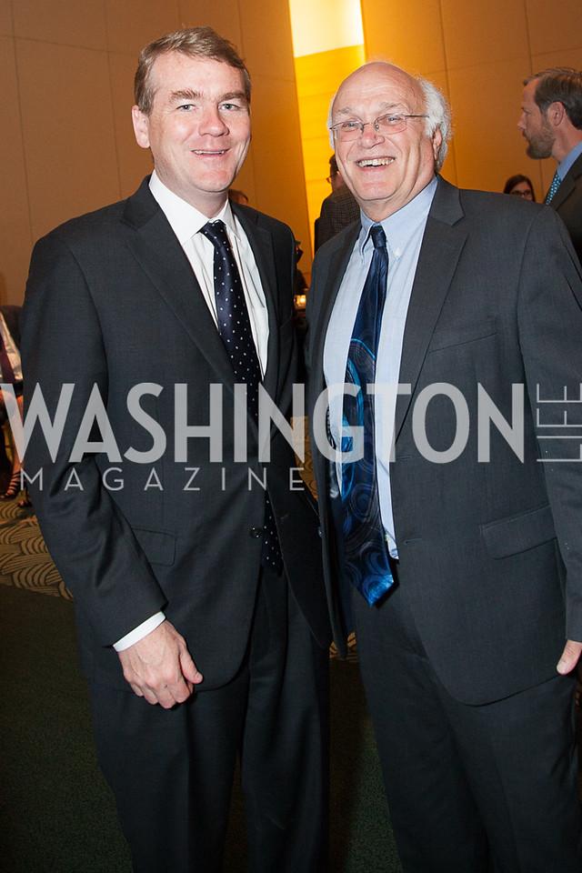 Sen Michael Bennett, President of LVC Gene Carpinsky