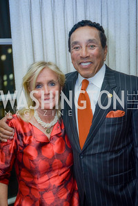 Congresswoman Debbie Dingell, Smokey Robinson, Honored with Gershwin Award, Library of Congress Dinner, November 15, 2016, photo by Ben Droz,