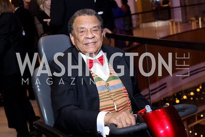 Amb. Andrew Young. Photo by Tony Powell. MGM National Harbor Grand Opening. December 8, 2016