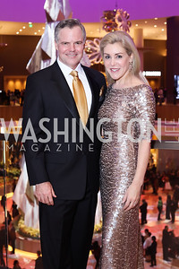 MGM CEO Jim and Heather Murren. Photo by Tony Powell. MGM National Harbor Grand Opening. December 8, 2016