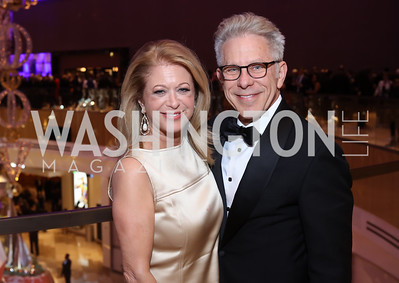 Debra Lerner Cohen and Edward Cohen,. Photo by Tony Powell. MGM National Harbor Grand Opening. December 8, 2016