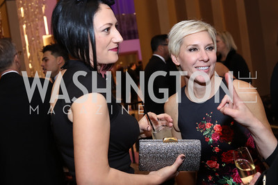 Pamela De Blanc, MGM Head of Procurement Jennifer Crane. Photo by Tony Powell. MGM National Harbor Grand Opening. December 8, 2016
