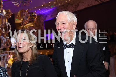 Lauren Peterson, Milt Peterson. Photo by Tony Powell. MGM National Harbor Grand Opening. December 8, 2016