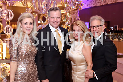 Heather Murren and MGM CEO Jim Murren, Debra Lerner Cohen and Edward Cohen. Photo by Tony Powell. MGM National Harbor Grand Opening. December 8, 2016