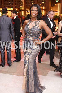 Omarosa Manigault. Photo by Tony Powell. MGM National Harbor Grand Opening. December 8, 2016