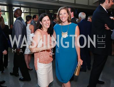 Tali Stein, Emily Lenzner. Photo by Tony Powell. MSNBC 20th Anniversary. Newseum. June 14, 2016