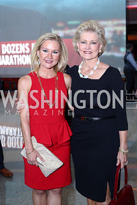 Nan Ellen Nelson, Grace Nelson. Photo by Tony Powell. MSNBC 20th Anniversary. Newseum. June 14, 2016