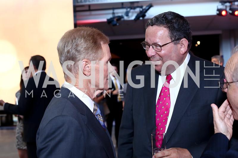 Sen. Bill Nelson, EVP David Cohen. Photo by Tony Powell. MSNBC 20th Anniversary. Newseum. June 14, 2016