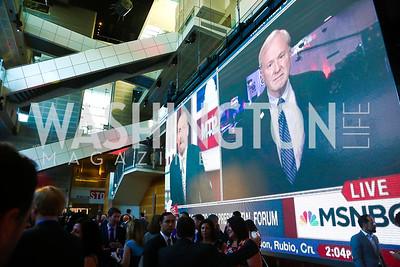 Photo by Tony Powell. MSNBC 20th Anniversary. Newseum. June 14, 2016