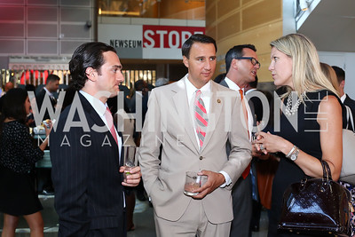 Dante Cutrone, Rep. Ryan Costello, Lindsey Dickinson. Photo by Tony Powell. MSNBC 20th Anniversary. Newseum. June 14, 2016