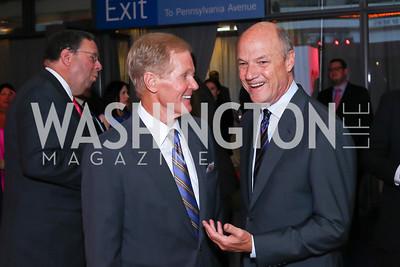 Sen. Bill Nelson, MSNBC President Phil Griffin. Photo by Tony Powell. MSNBC 20th Anniversary. Newseum. June 14, 2016