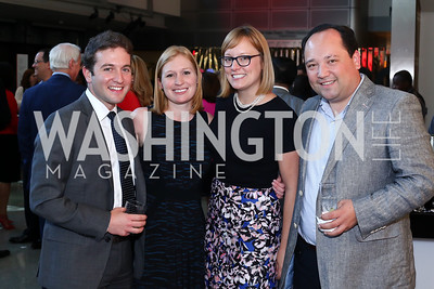 Jake Sherman, Jackie Kucinich, Anna Palmer, Phil Rucker. Photo by Tony Powell. MSNBC 20th Anniversary. Newseum. June 14, 2016