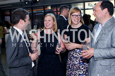 Jake Sherman, Jackie Kucinich, Anna Palmer, Phil Rucker. Photo by Tony Powell. MSNBC 20th Anniversary. Newseum. June 14, 2016